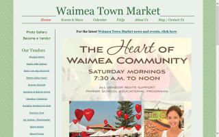 Waimea Town Market at Parker School