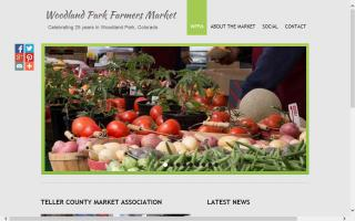 Woodland Park Farmers' Market - Summer