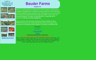 Bauder Farms