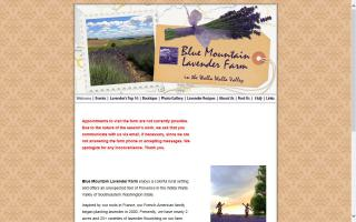 Blue Mountain Lavender Farm