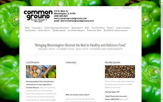 The Common Ground Natural Foods