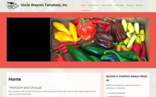 Uncle Wayne's Tomatoes, Inc