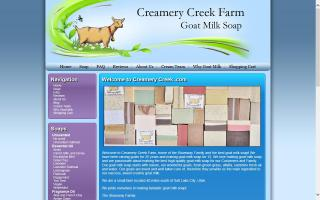 Homemade Goat Milk Soap - Creamery Creek