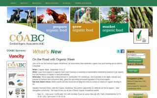 Certified Organic Associations of British Columbia - COABC