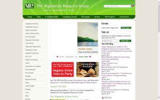 The Vegetarian Resource Group - VRG