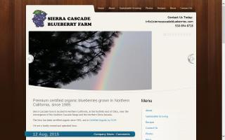 Sierra Cascade Blueberry Farm