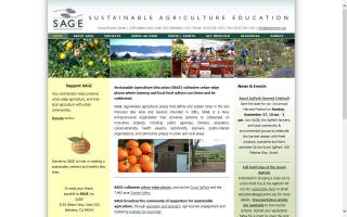 Sustainable Agriculture Education - SAGE