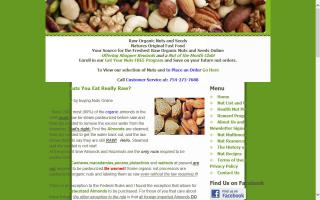 Raw Organic Nuts and Seeds