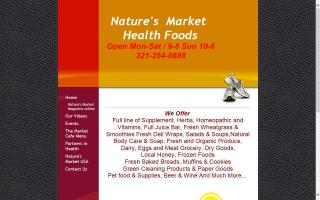 Nature's Market Health Foods