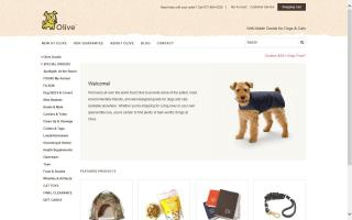 Olive-Green Goods for Modern Dogs
