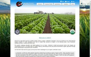 Agricultural Services Certified Organic, LLC. - ASCO