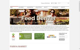 Feed Denver: Urban Farms & Markets