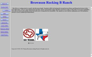 Brownson Rocking B Ranch