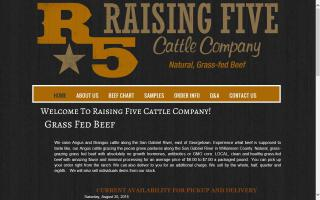 Raising 5 Cattle Company