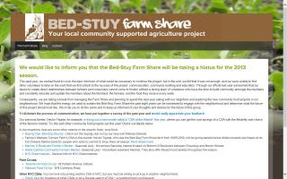 Bed-Stuy Farm Share