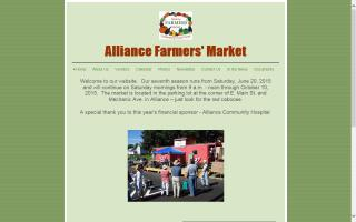 Alliance Farmers Market