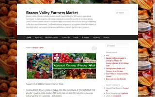 Brazos Valley Farmers Market