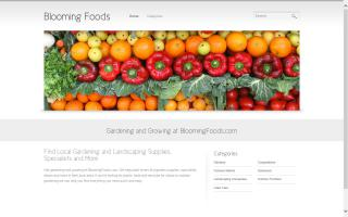 Blooming Foods