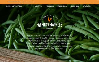 Boulder County Farmers' Markets