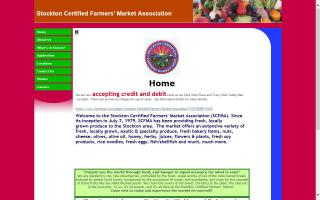 Stockton Certified Farmers' Market Association