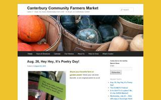 Canterbury Community Farmers Market