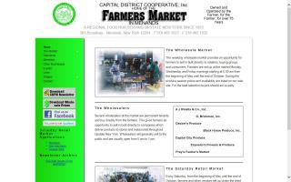 Capital District Farmers Market in Menands