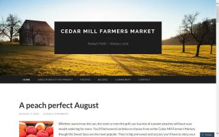 Cedar Mill Farmers' Market