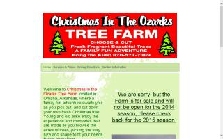 Christmas in the Ozarks Tree Farm