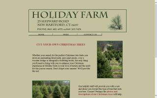 Holiday Farm Christmas Trees
