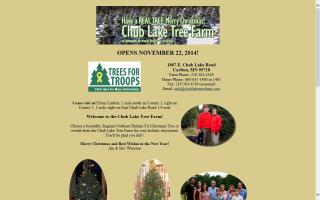Chub Lake Tree Farm