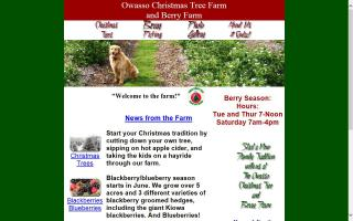 Owasso Christmas Tree Farm and Owasso Berry Farm