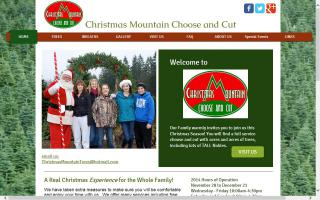 Christmas Mountain Choose and Cut
