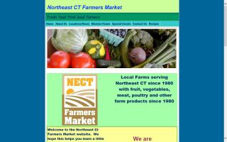 Northeast Connecticut Farmers Markets