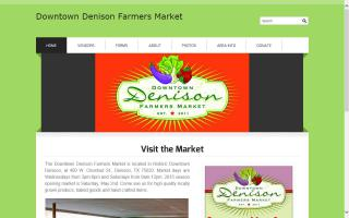 Downtown Denison Farmers Market