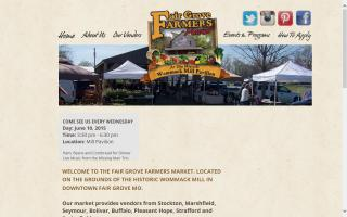 Fair Grove Farmers' Market - Home