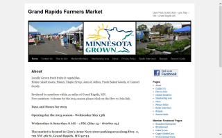 Grand Rapids MN Farmers Market