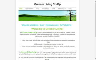 Greener Living Co-Op