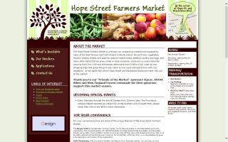 The Hope Street Farmers Market
