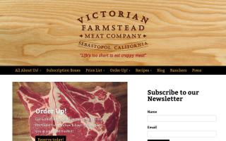 Victorian Farmstead Meat Company