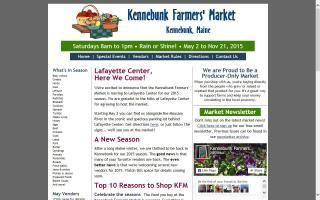 Kennebunk Farmers' Market