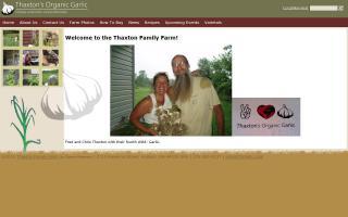 Thaxton's Organic Garlic