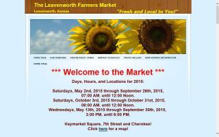 Leavenworth Farmers Market