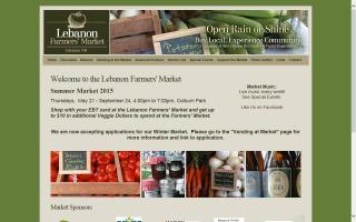 Lebanon Farmers' Market