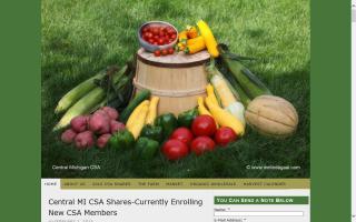 Michigan Farm Freah Produce and CSA