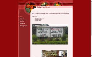 Matthys Farm Market