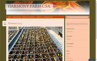 Harmony Farm CSA