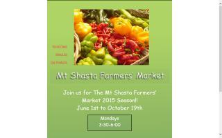 Mt. Shasta Farmers' Market