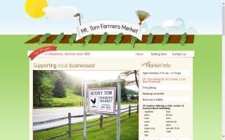Mt. Tom Farmers Market