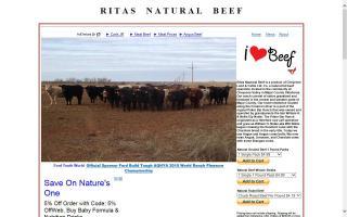 Rita's Natural Beef
