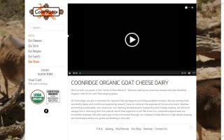 Coonridge Organic Goat Cheese